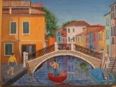 Burano in Bay of Venice
